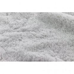 Tissu Fausse fourrure Mouton ultra doux Perle