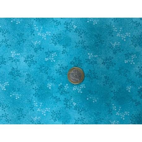 Tissu collection Printemps, Faux uni VERT D'EAU