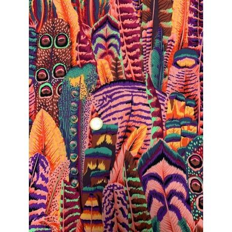 Tissu Kaffe Collective feuilles by Kaffe Fassett