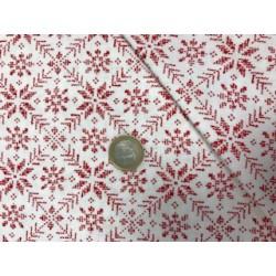 Tissu noel moda collection nordic stiches motifs géométriques