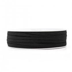 elastique 5 gommes 7 mm noir