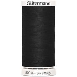 Fil Gutermann noir Col 000