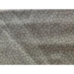 Tissu japonais coton lin gris/vert