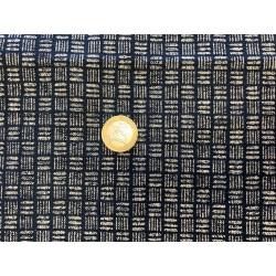 Tissu japonais marine épais panier
