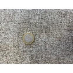 Tissu japonais coton lin MOUCHETÉ CHOCOLAT
