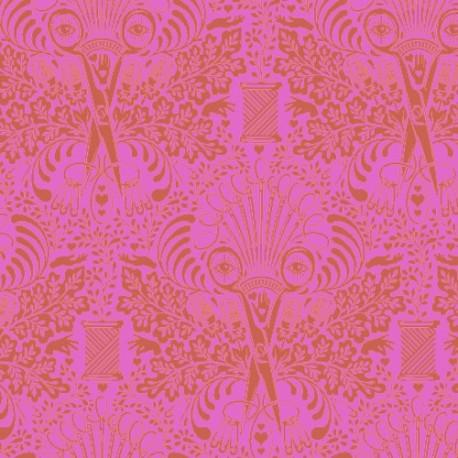 Tissu Free Spirit Tula Pink ciseaux femme