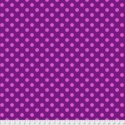 Tissu Free Spirit Tula Pink gros pois roses/ violet