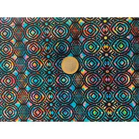 Tissu Zanzibar Quilter treasure by Dan Morrris
